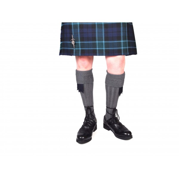 Off-Grey Kilt Hose