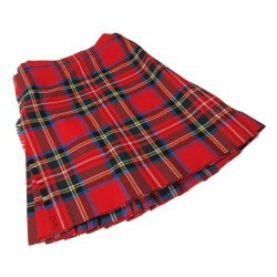 Royal Stewart Kilted Skirt - W:24 H:28 L:18