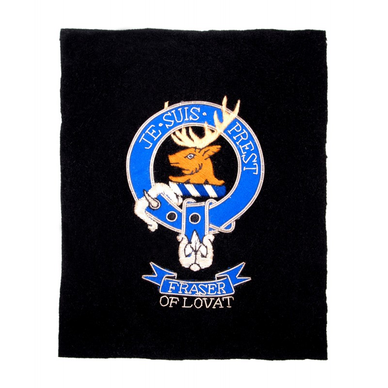 Sew-in Clan Fraser of Lovat Patch