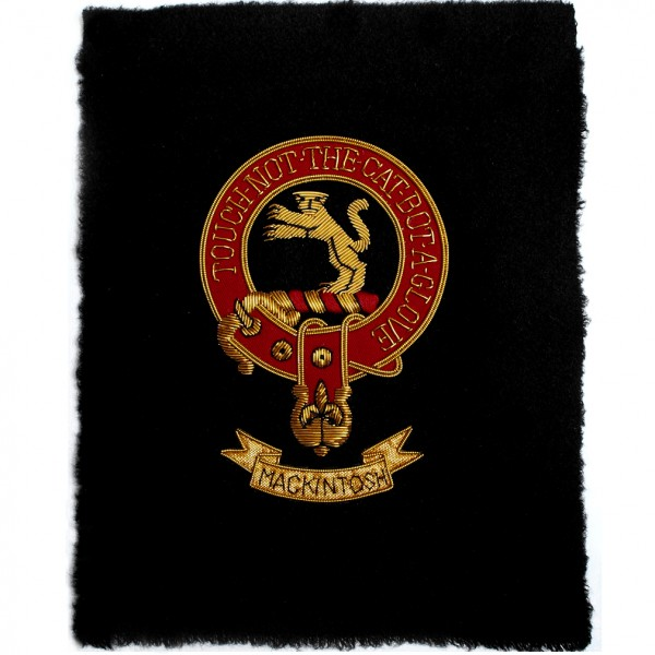 Sew-in Clan MacKintosh Patch