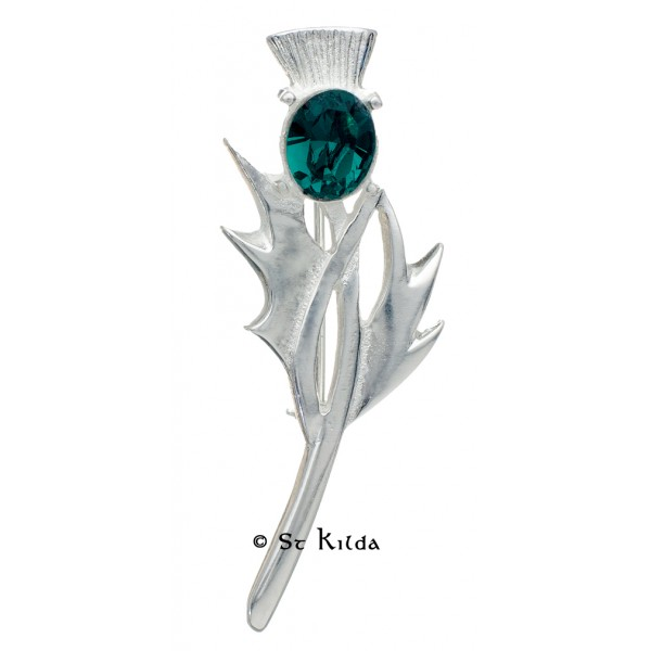 Carrick Thistle Brooch