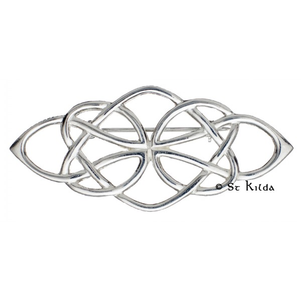 Carrick Celtic Deco Knot Brooch