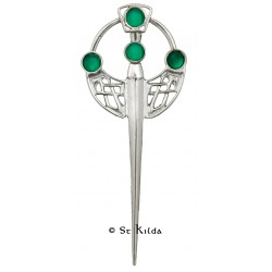 Carrick Celtic Deco Kilt Pin