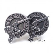 Clan Crested Cufflinks