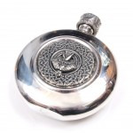 Sporran Flask Irish Harp