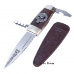 Officer Sgian Dubh with Gear Crest