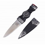 Sgian Dubh with Irish Clan Crest