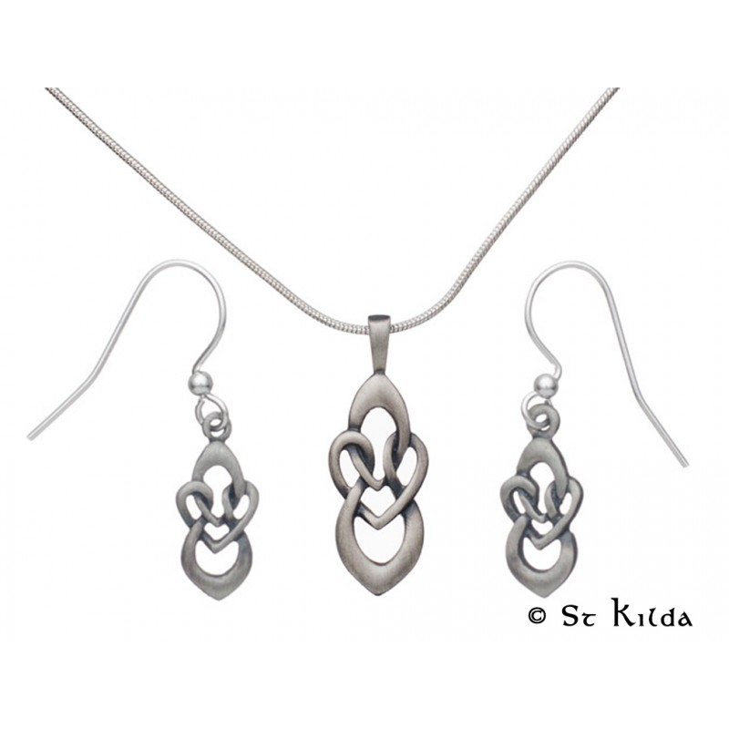 125cb52b5 Out Of Stock Carrick Celtic Knot Pendant and Earrings Set