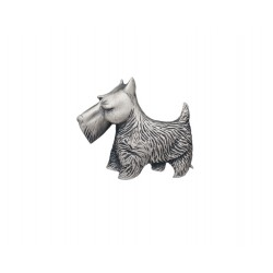 Carrick Scotty Dog Brooch
