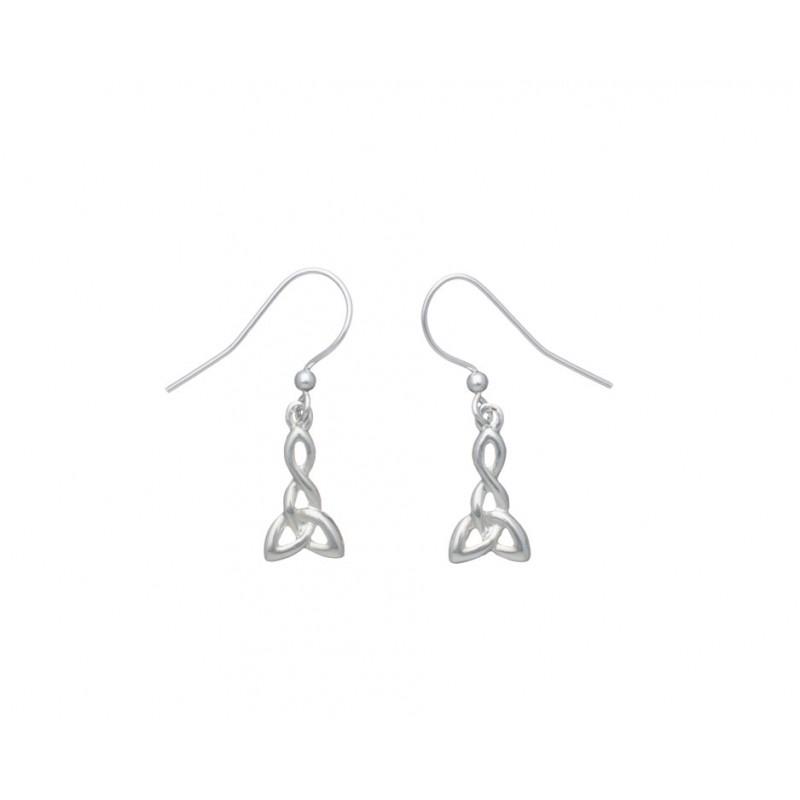 c47bfdbd9 Carrick Celtic Knot Triangle Pendant and Earring Set
