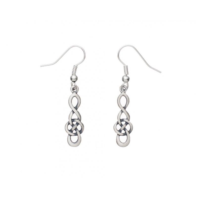 27daf2fb4 Carrick Celtic Knot Drop Pendant and Earring Set