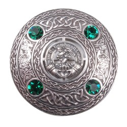 Plaid Brooch Irish Clan Crest