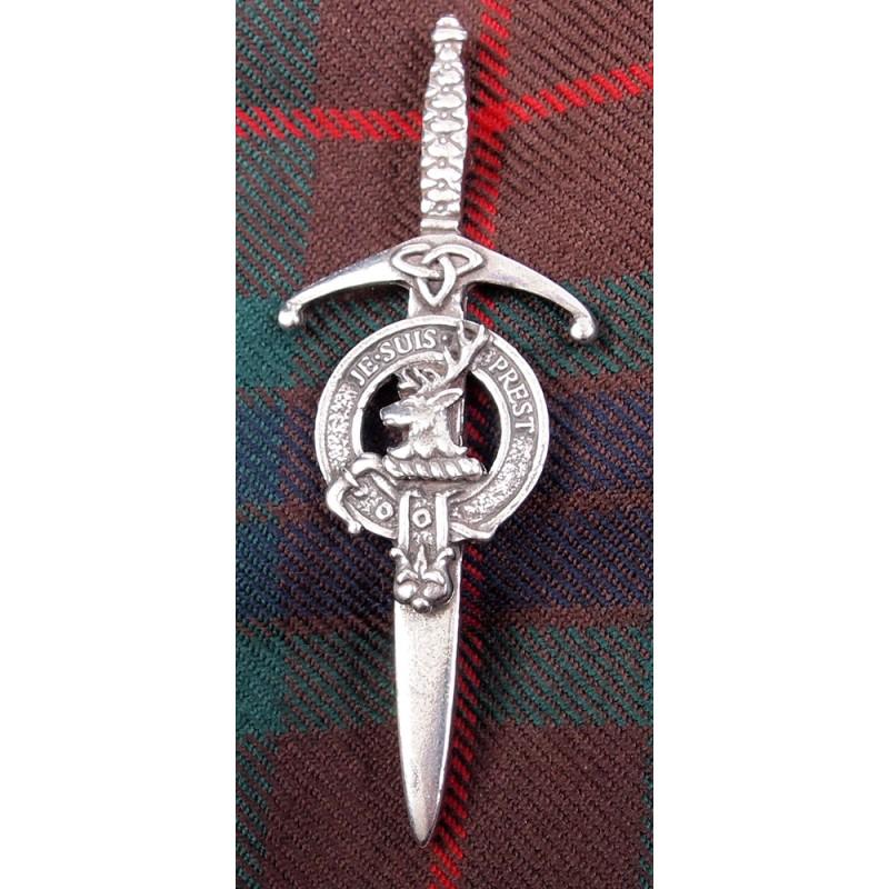 Kilt Pin Scottish Clan Crest