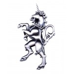 Kilt Pin Scottish Unicorn
