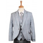 Patterned Tweed Jacket and Waistcoat - standard size