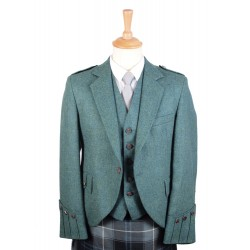 Argyll Tweed Jacket in Highland Green