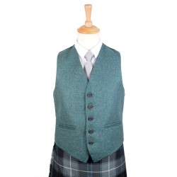 Five Button Tweed Waistcoat Made to Measure