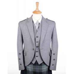 Braemar Tweed Jacket in Grey Arrochar