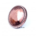 Antique Copper Blazer Buttons - Five Pack