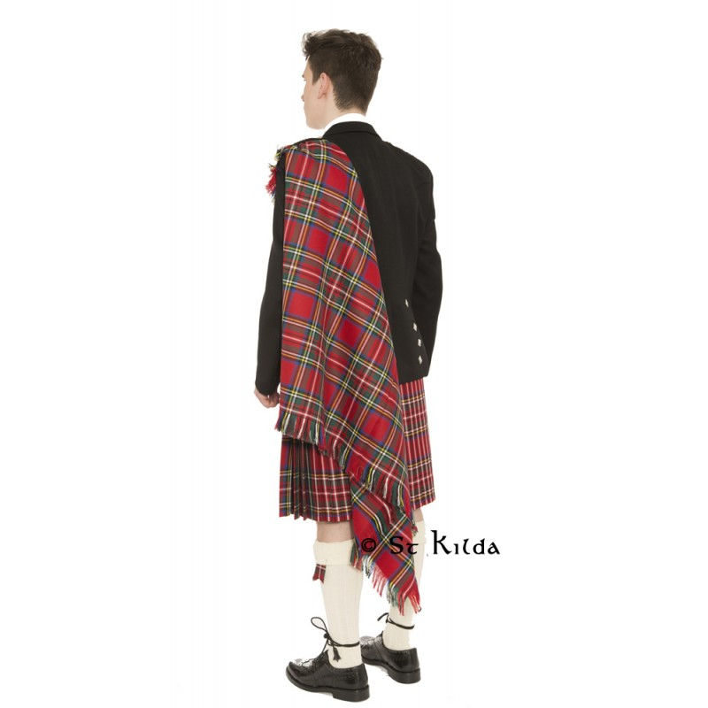 Fly plaid select your own color Tartan for kilt