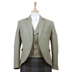 Kirkton Tweed Kilt Jacket and Waistcoat - made to measure