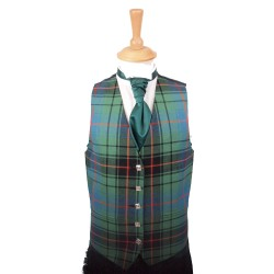 Five Button Tartan Waistcoat Made to Measure