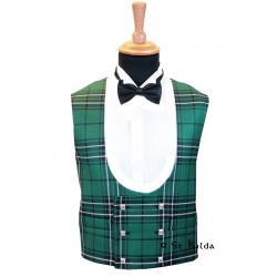 Double-Breasted Tartan Waistcoat Made to Measure