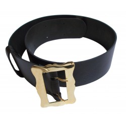 Brass Buckled Kilt Belt