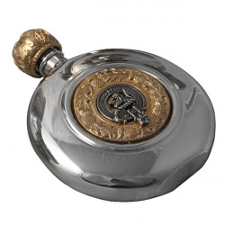 Sporran Flask Scottish Clan Crest
