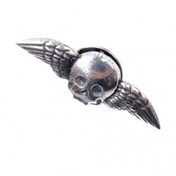 Clutch Pin - Winged Skull