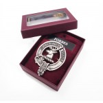 Cap Badge Scottish Clan Crest