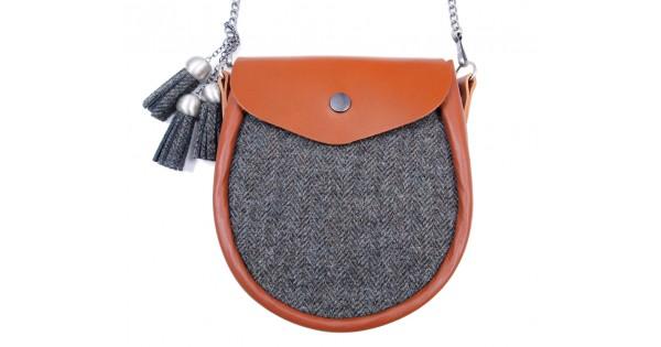b67d7b59ef Ladies Tweed Sporran Shoulder Bag