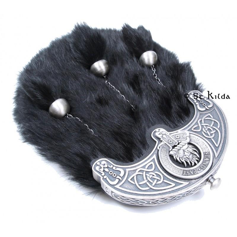 Dress Sporran Scottish Clan Crest