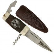 The Officer Sgian Dubh
